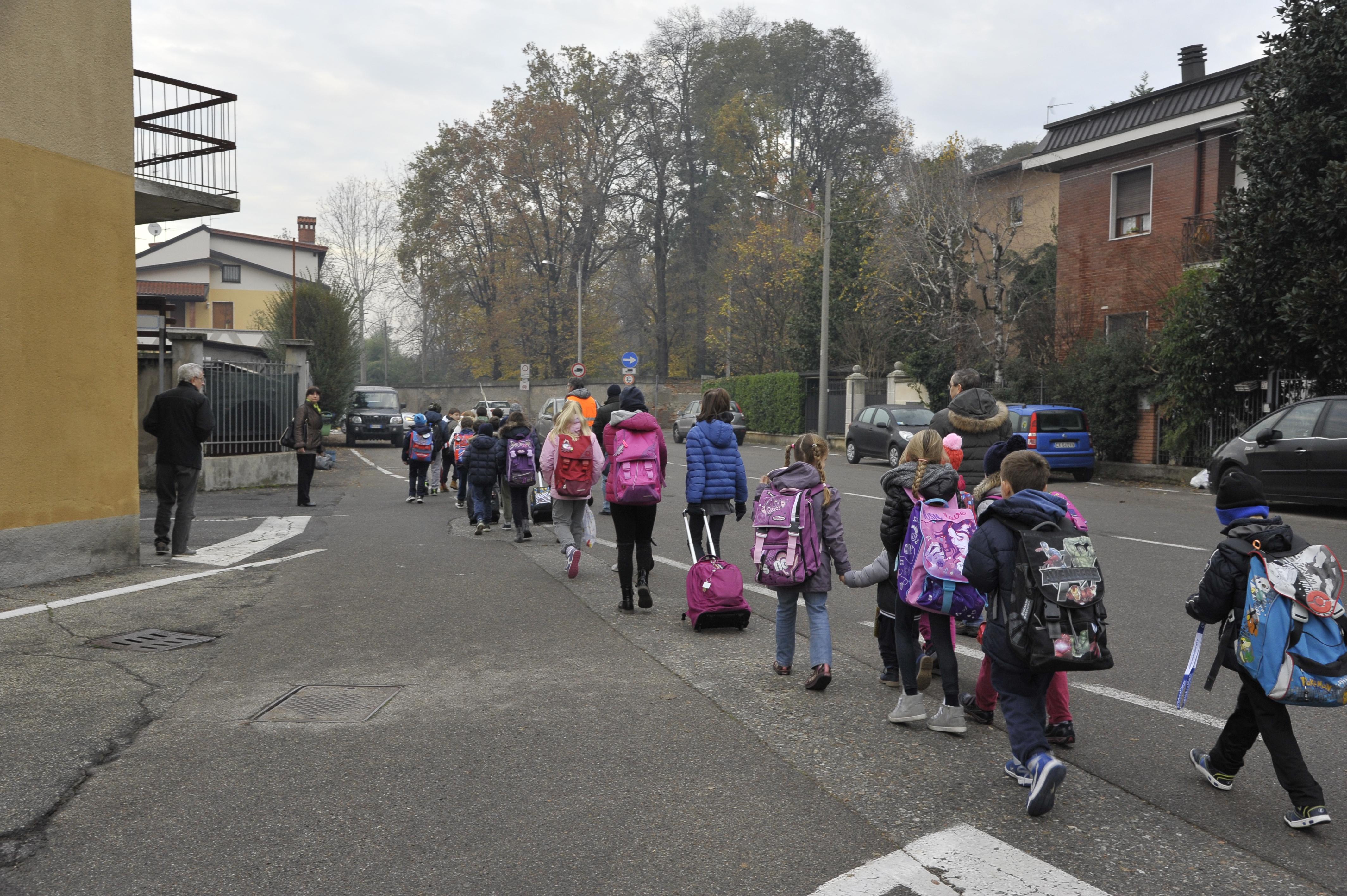 Walking bus 2014-2015